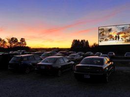 Cinema Drive-in em Goiânia
