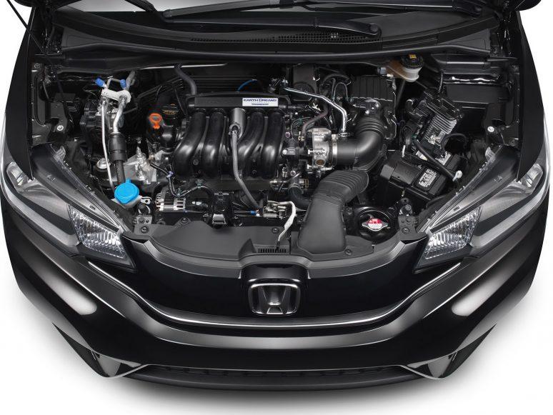 Motor do novo Honda Fit 2017 vendido nos EUA