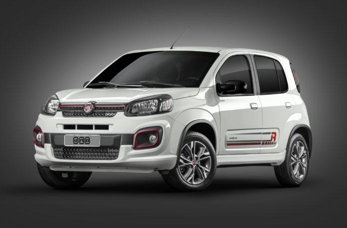Novo Fiat Uno 2017