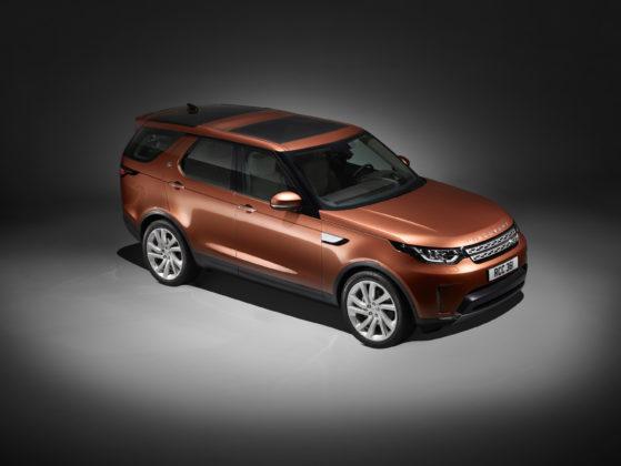 Novo Land Rover Discovery