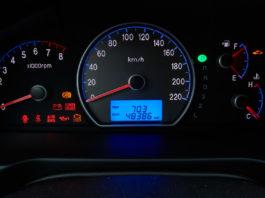 Luzes do painel do carro - UsadosBR