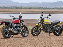 Test Ride: Ducati Scrambler e Triumph Street Twin