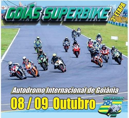 3ª etapa do Goiás SuperBike 2016