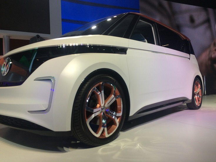 Volkswagen BUDD-e (Foto: Yuri Rodrigues)