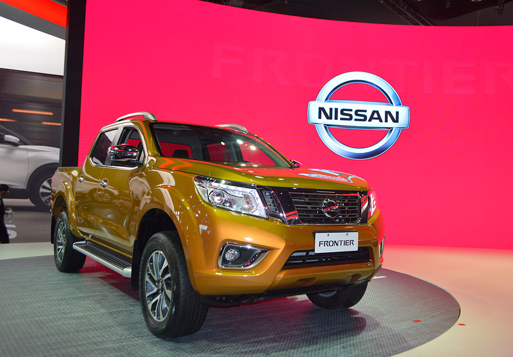 Nissan Frontier 2017 (Foto: Layane Palhares)