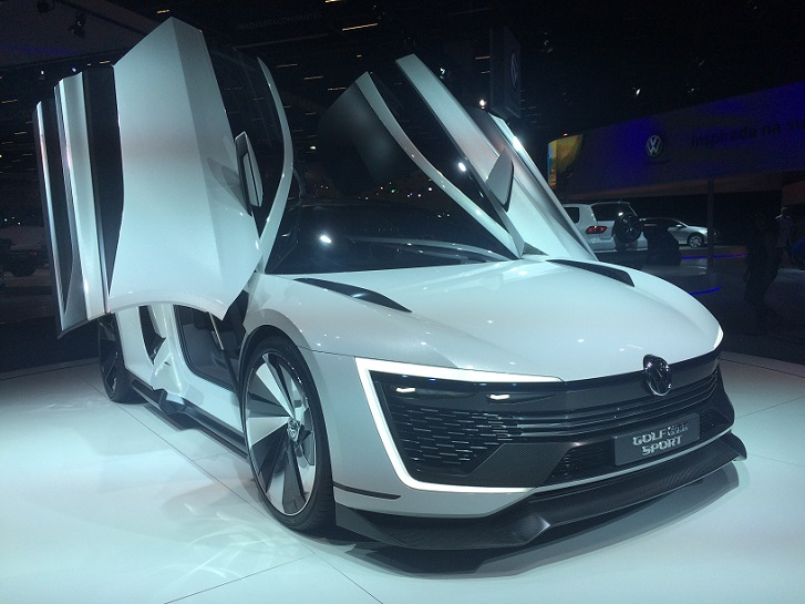 Volkswagen Golf GTE Sport (Foto: Yuri Rodrigues)