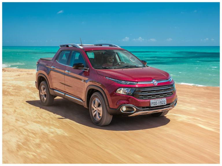 Versão de entrada da Fiat Toro é oferecido com desconto de R$ 4,600
