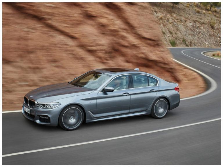 BMW Série 5 2018 tem pré-venda iniciada