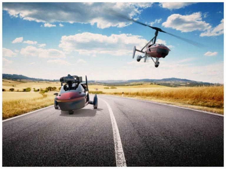 Carros voadores devem chegar às lojas já em 2018