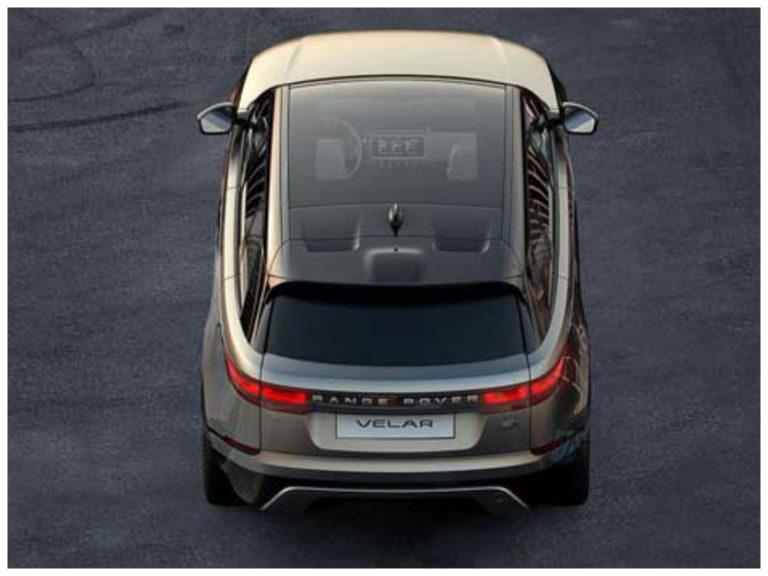 Range Rover Velar tem primeira imagem revelada
