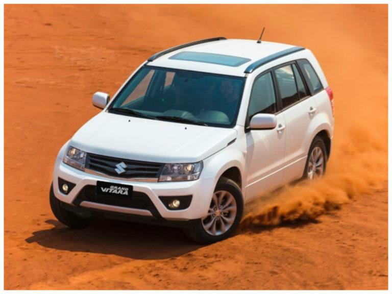 Suzuki convoca recall do Grand Vitara no Brasil