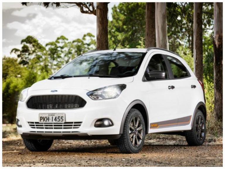 Ford Ka ganha versão aventureira a partir de R$ 47.690