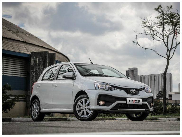Toyota Etios 2018 tem reajuste de preço e fica mais caro