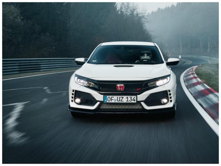 Honda Civic Type R bate recorde de tração dianteira