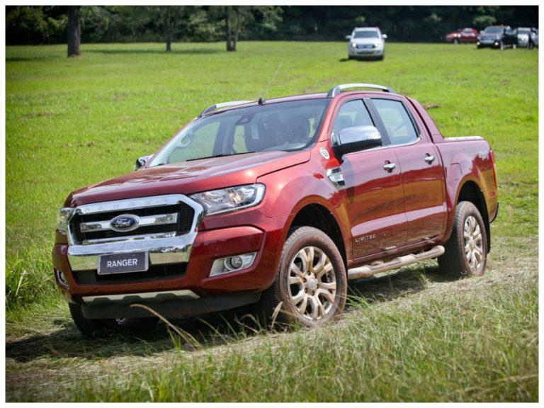 Ford Ranger 2017 sofre recall por falha nos airbags laterais