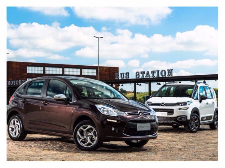 Citroën lança C3 e Aircross 2018 com câmbio automático de seis marchas