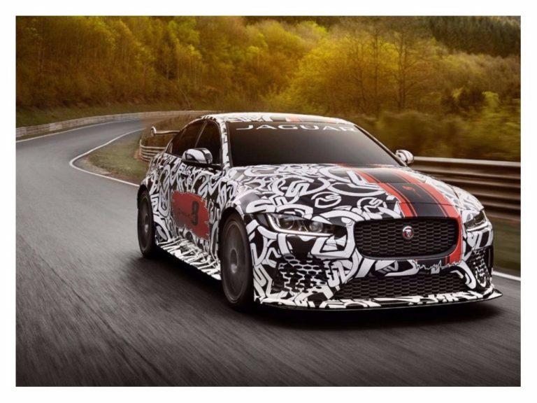 Jaguar revela protótipo XE SV Project 8, o super sedã com 600 cv
