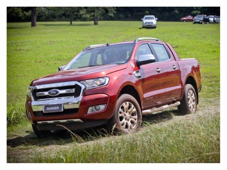 Ford faz recall da Ranger por falha em eixo cardã