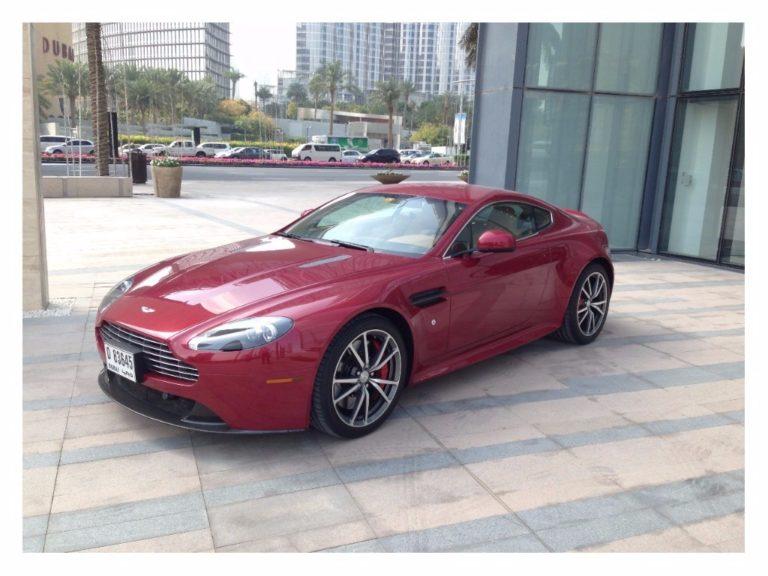 Aston Martin Vantage é convocado para recall