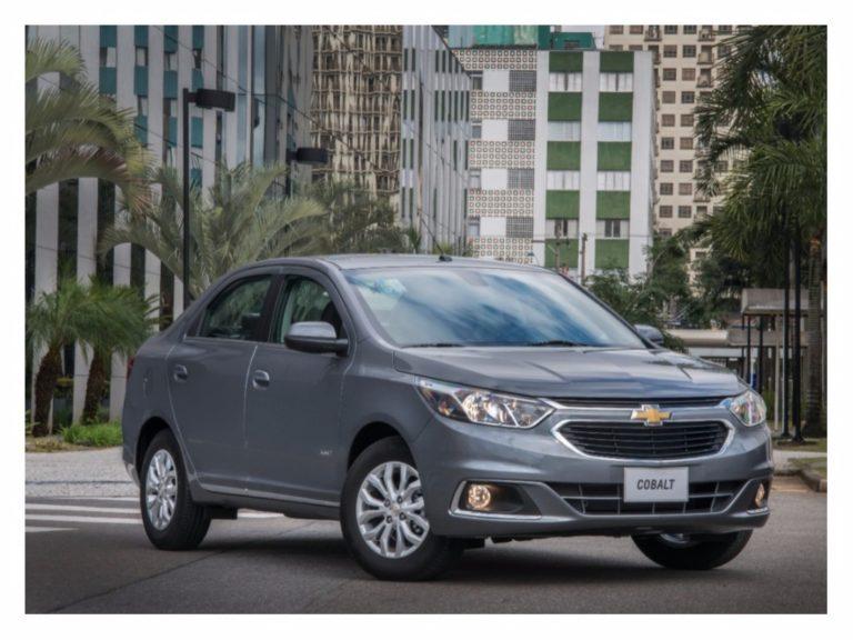 Chevrolet Cobalt 2018 ganha novos itens de segurança