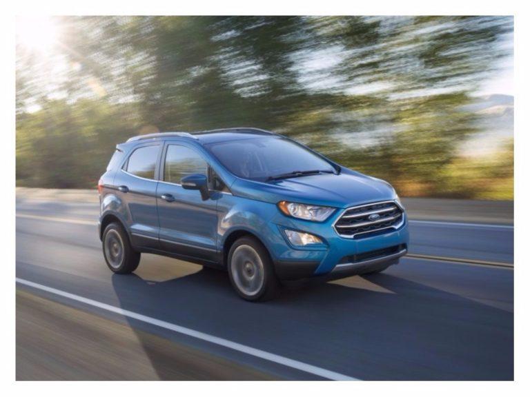 Ford renova EcoSport para voltar ao topo do segmento de SUVs