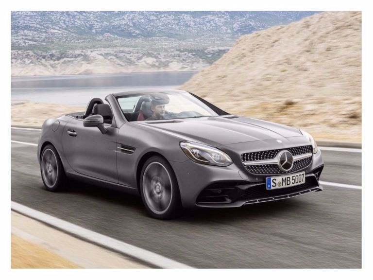 Mercedes-Benz convoca recall dos esportivos SLK 300, SLC 300 e SLC 43 AMG
