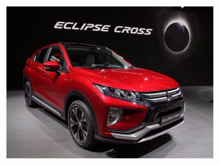 Mitsubishi Eclipse Cross será vendido no Brasil em 2018