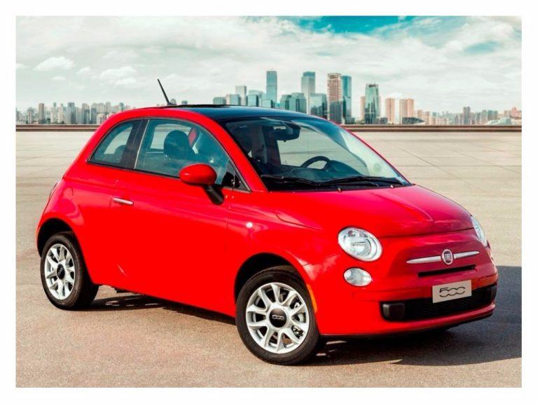Fiat 500 2017 ganha novos itens por R$ 61.396