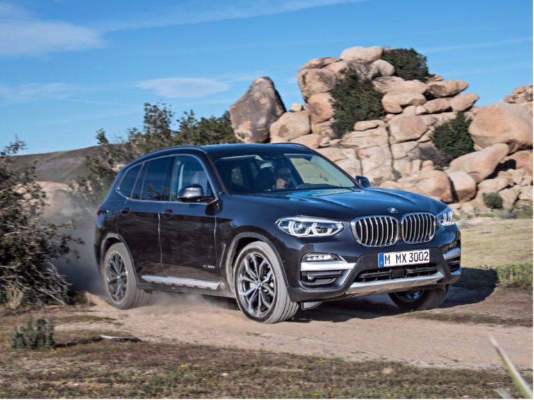 Nova geração do BMW X3 chega ao Brasil no primeiro semestre de 2018