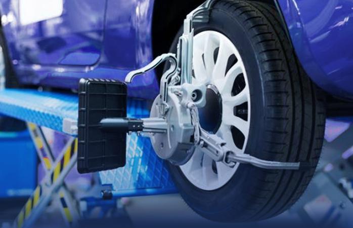 Alinhamento e balanceamento do carro