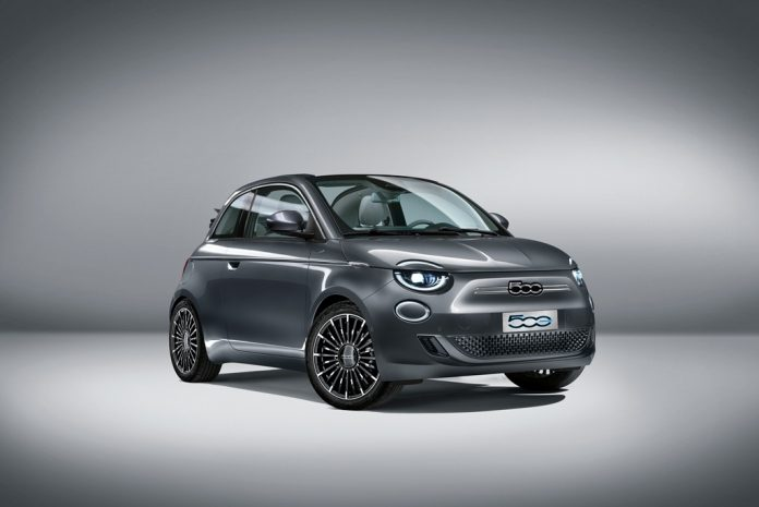 Apresentar o Novo 500, modelo totalmente elétrico da Fiat