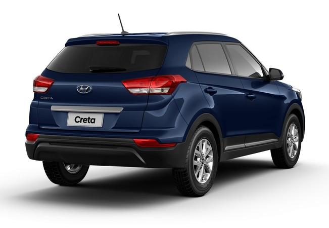 Traseira do novo Hyundai Creta Action 1.6