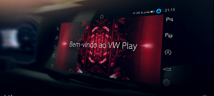 VW Play, a nova central multimídia do Volkswagen Nivus