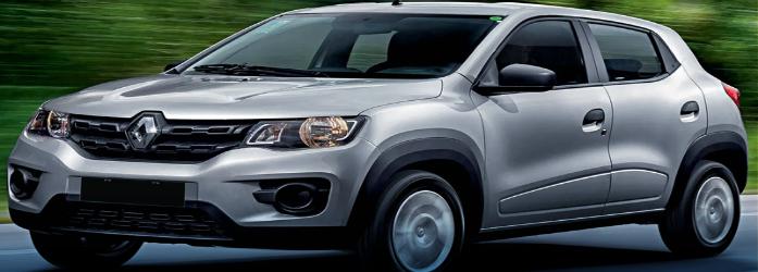 Renault Kwid está entre os 10 carros flex mais econômicos do Brasil