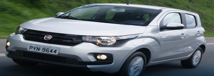 Fiat Mobi está entre os 10 carros flex mais econômicos do Brasil