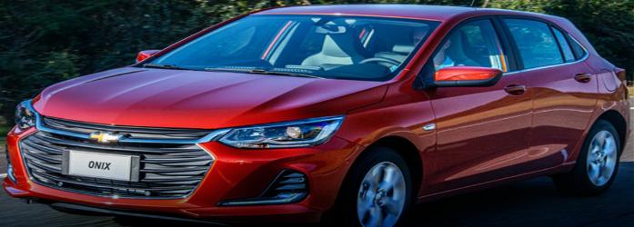 Chevrolet Onix está entre os 10 carros flex mais econômicos do Brasil