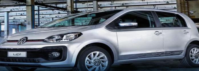 Volkswagen Up! está entre os 10 carros flex mais econômicos do Brasil