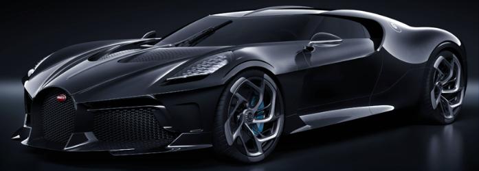 Bugatti La Voiture Noire está na lista dos carros mais caros do mundo