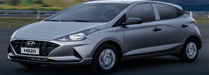 Hyundai HB20 está entre os 10 carros flex mais econômicos do Brasil