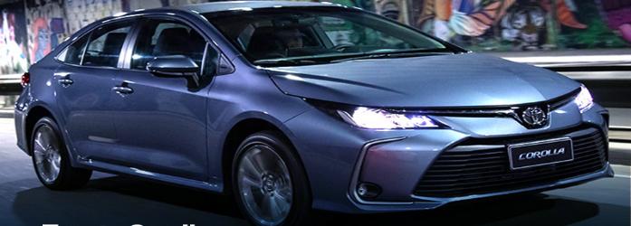 Toyota Corolla está entre os 10 carros flex mais econômicos do Brasil