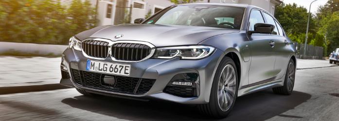 330e M Sport cinza que será um dos lançamentos da BMW no Brasil