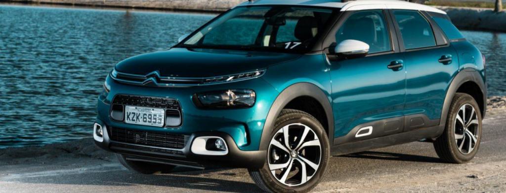 SUVs mais econômicos do Brasil: Citroen C4 Cactus