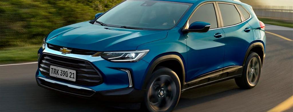 SUVs mais econômicos do Brasil: Chevrolet Tracker