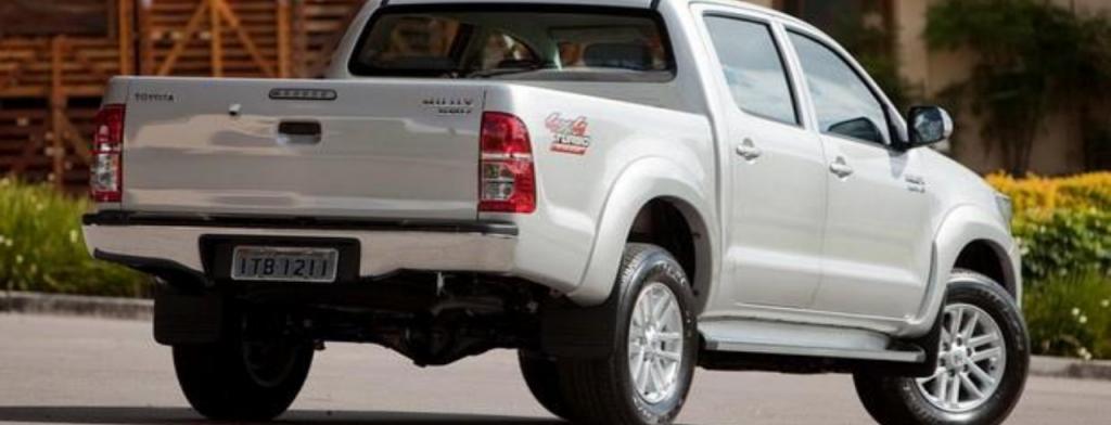 Carros que não pagam IPVA - Toyota Hilux