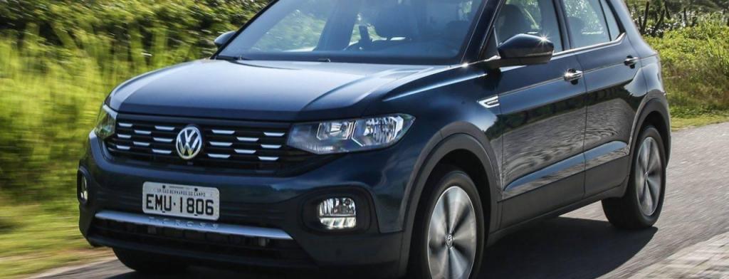SUVs mais econômicos do Brasil: Volkswagen T-Cross
