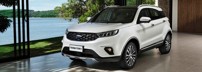 Lançamentos de carros - Ford Territory