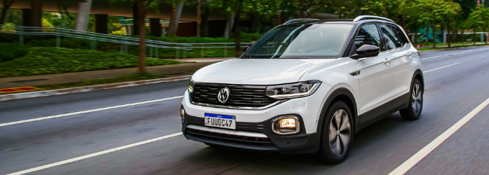 Lançamentos de carros - Volkswagen T-Cross