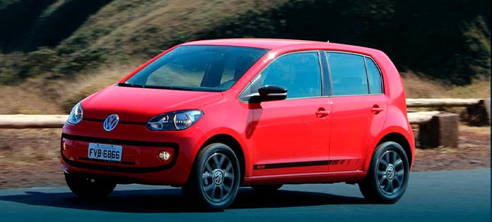 Carros que menos desvalorizam - Volkswagen Up!