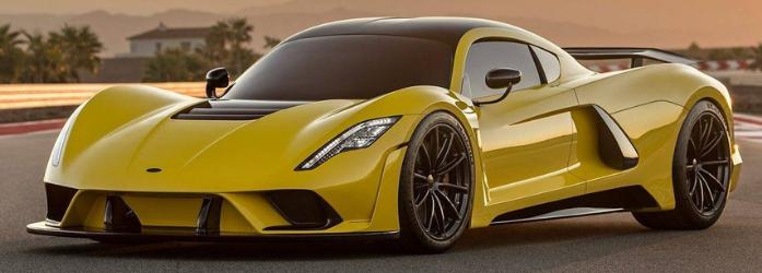 Carros mais rápidos do mundo - Hennessey Venom GT