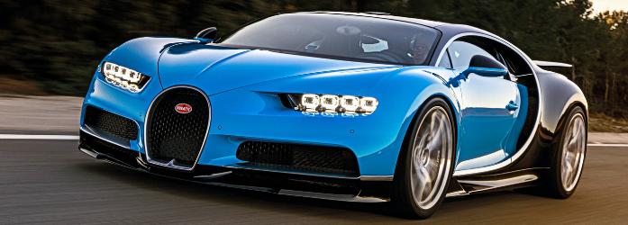 Carros mais rápidos do mundo - Bugatti Chiron